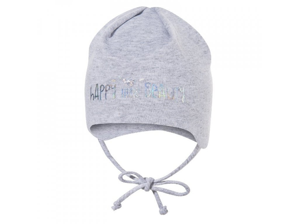 444d030a8476 Broel bavlnená čiapka BASIC 63 sivý melír