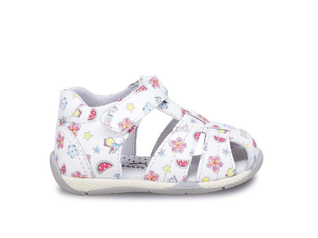a8b429b93e9d Ciciban kožené detské sandálky Over PARTY 281122