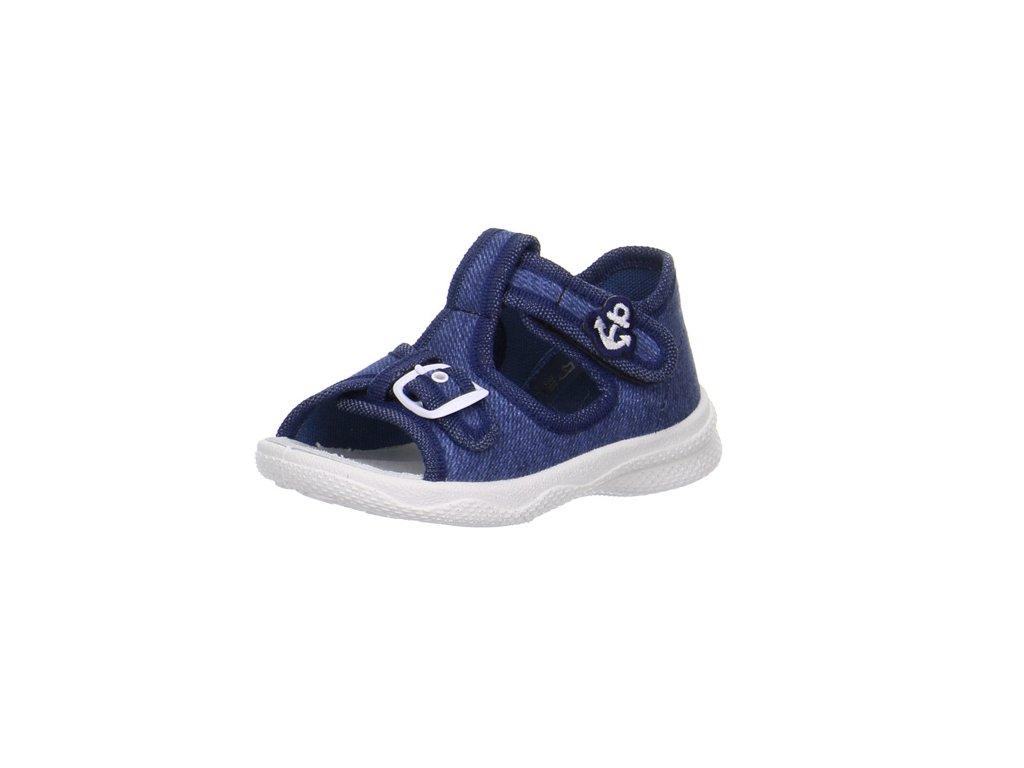 Superfit detské textilné sandálky POLLY  0-00292-87