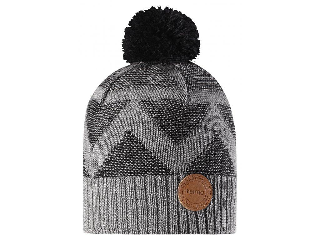 16e2c2da0 REIMA Zimná vlnená čiapka NIKKALA 528603-9401 | Obuvstonozka.sk