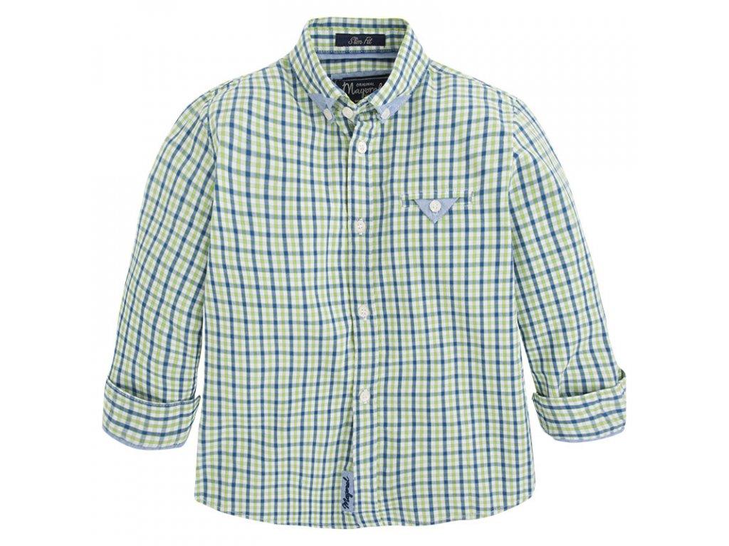 Mayoral kockovaná košeľa 4127-32
