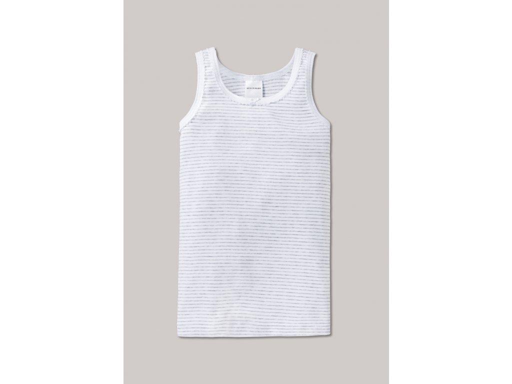 unterhemd feinripp grau meliert original classics 129567 202 front