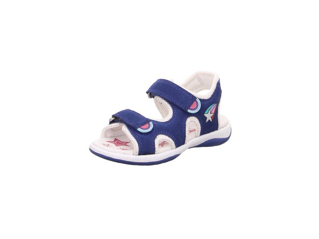 c55cb554b833 Superfit detské kožené sandálky SUNNY 4-09129-80