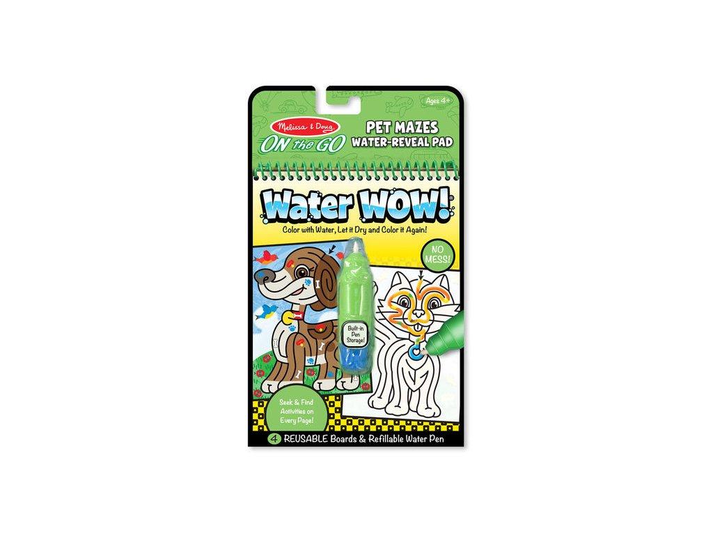 Water Wow! Zvieracie labyrinty