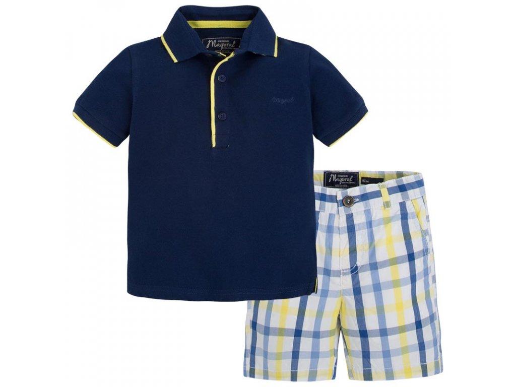 Mayoral set Polo tričko a šortky 25-03285-071