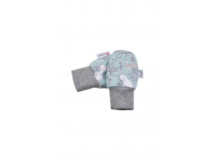 24287 rukavice podsite kojenecke outlast lisejnik cihlova liska pruh bilosedy melir velikost 1