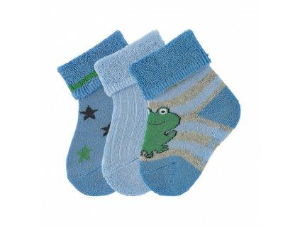 Sterntaler kojenecké froté ponožky 3ks