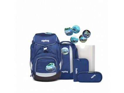 ERGOBAG skolska taska pack set inspectbear
