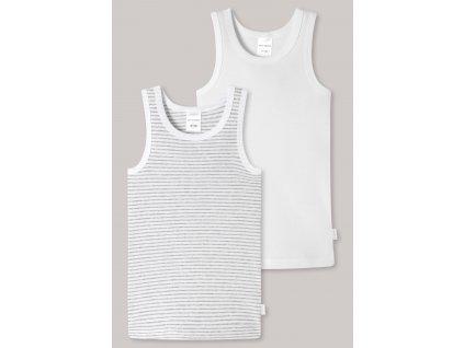 unterhemden 2er pack feinripp organic cotton ringel weiss grau feinripp multipacks 173114 911 detail1