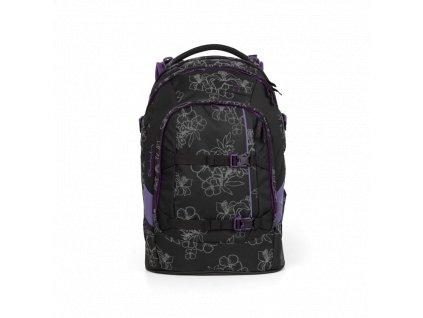 Satch skolska taska ninja hibiscus 1