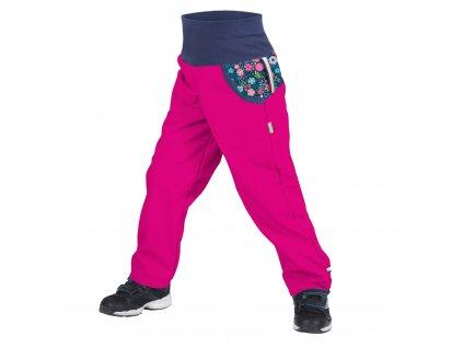 UNUO softshellové nohavice s flísom