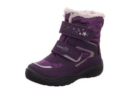 Superfit zimna obuv detska goretex crystal 1 009098 8500