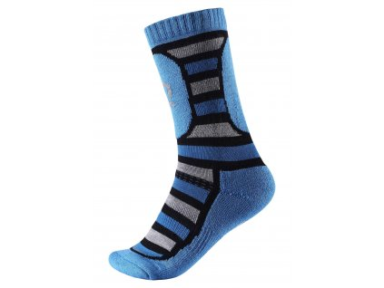 REIMA Vlnené lyžiarske ponožky STORK 537008-6490