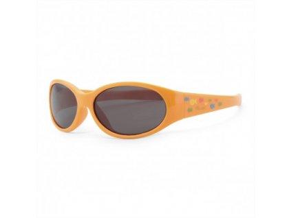 Chicco detské slnečné okuliare Fluo orange 12M+