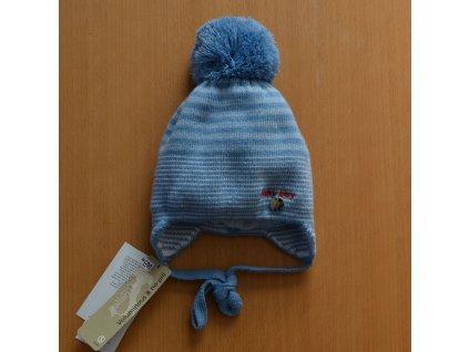 d9bf069f8 BARBARAS Zimná čiapka pre bábätko - prúžky