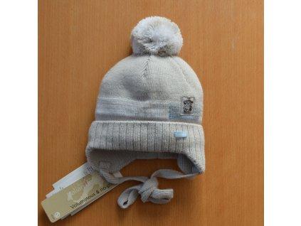 BARBARAS Zimná čiapka pre bábätko  - macko