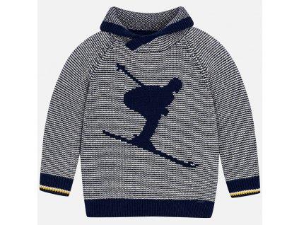 Mayoral Pletený sveter s lyžiarom 18-04302-092