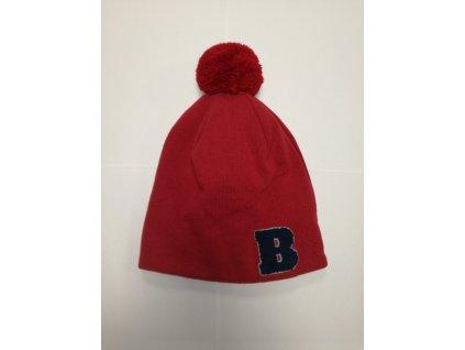 Broel zimná čiapka GAL červená-modrá