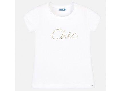 """Mayoral Tričko s nápisom """"Chic"""" 29-00854-025"""