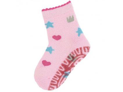 Sterntaler ponozky protismykove dievcenske 8031914 702