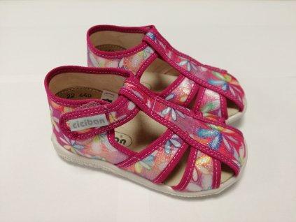 Ciciban detské papučky GIRL 29440