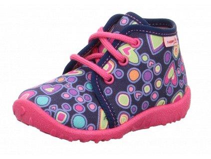 Superfit detské papučky SPOTTY 5-09250-82