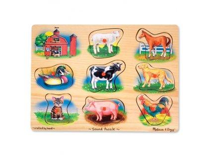 Zvukové vkladačky - Zvieratká z farmy