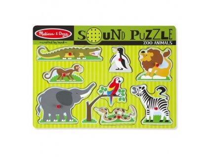 Zvukové vkladačky - Zvieratká zo Zoo