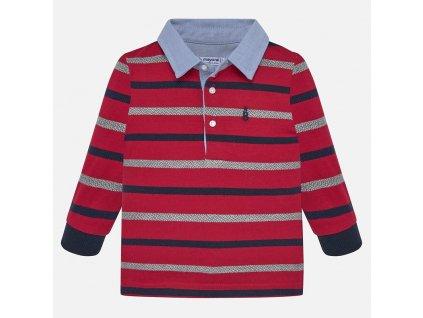 Mayoral Prúžkované polo tričko 19-02108-059