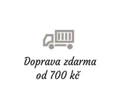 Doprava zdarma od 700 kč