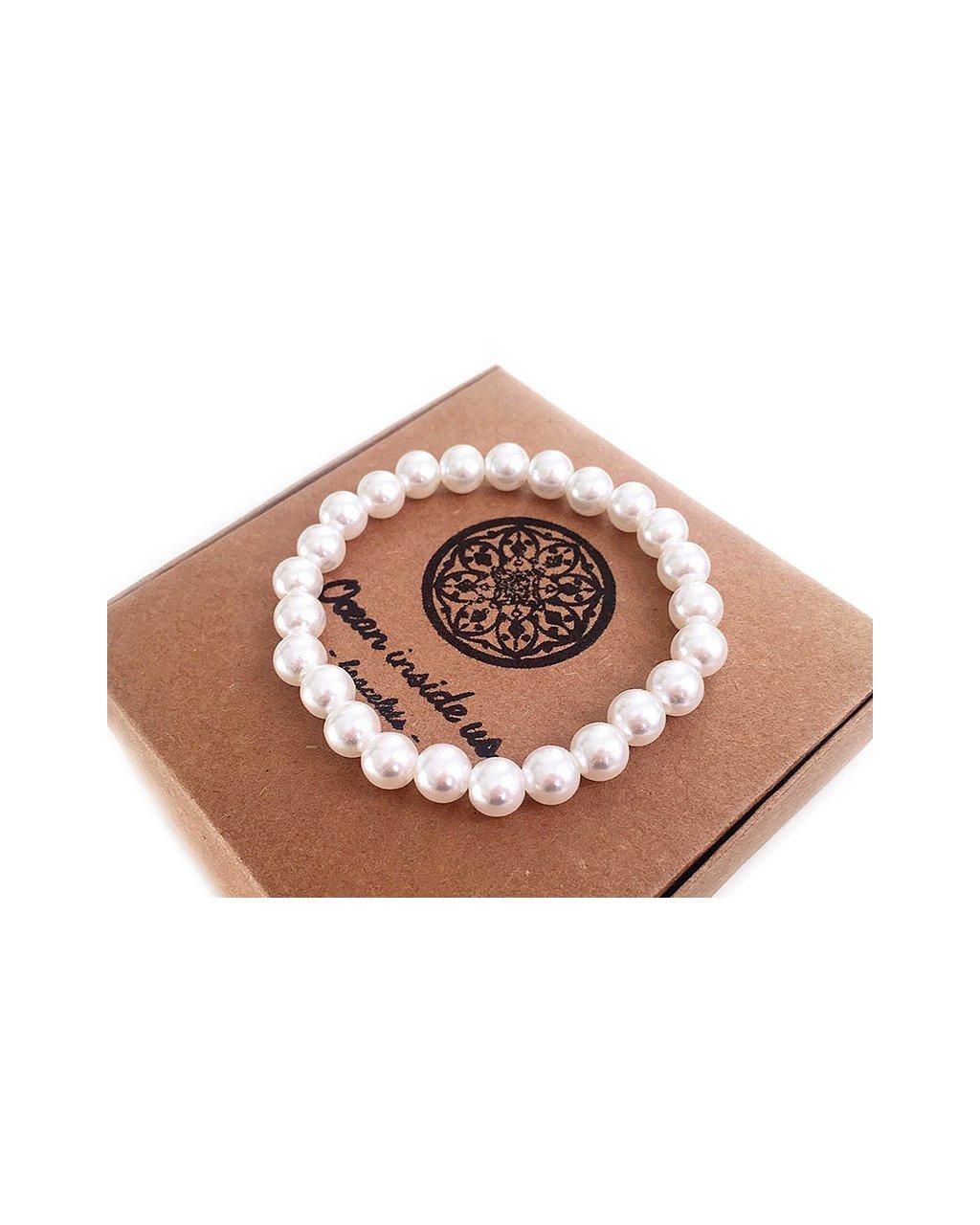 Náramek z minerálu perly