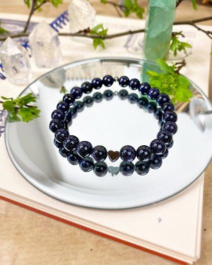 Náramek z minerálu lapis lazuli
