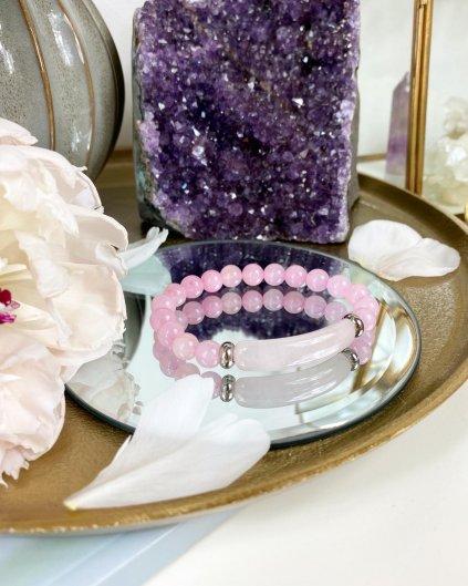 Léčivý náramek z kamene růženín