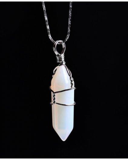 Náhrdelník s kamenem opál