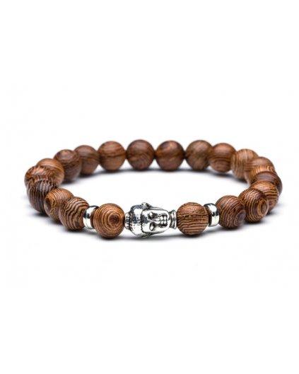 Buddha náramek a dřevěné korálky