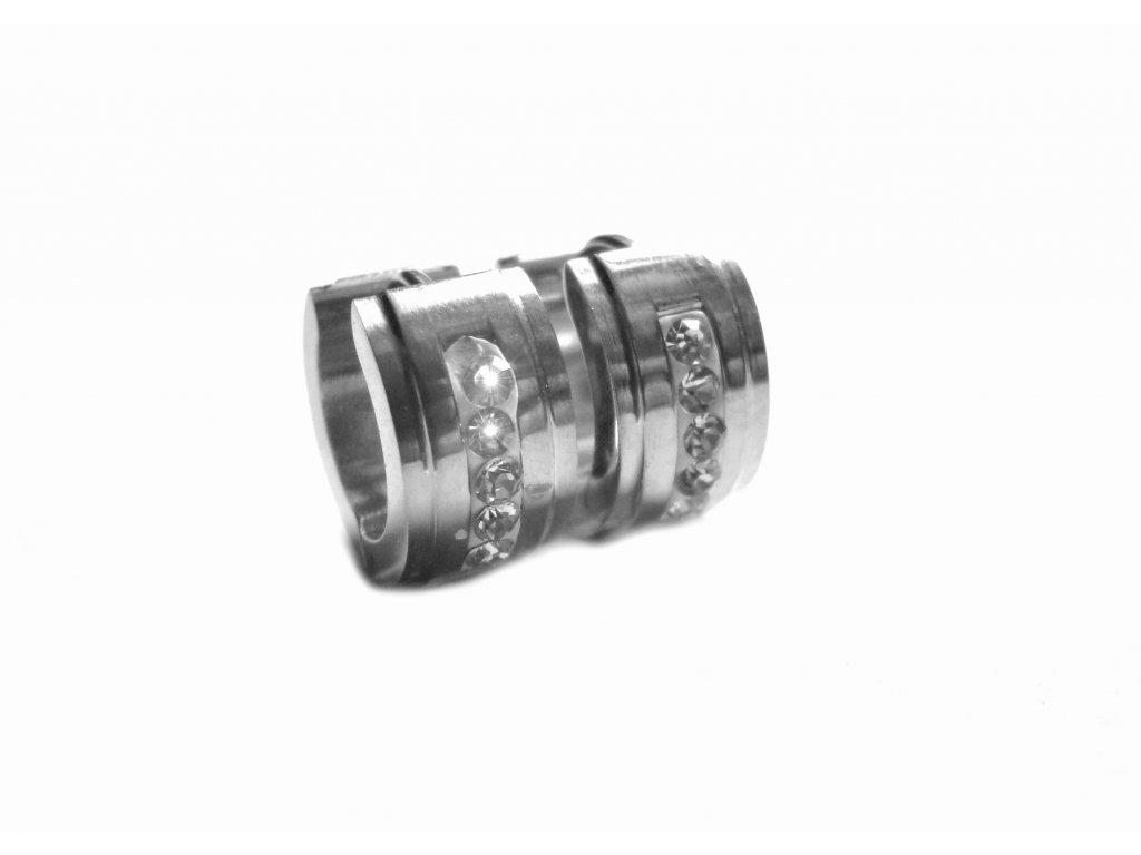 náušnice - chirurgická ocel - kroužky - 151201