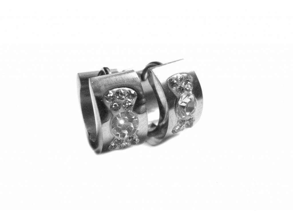 náušnice - chirurgická ocel - kroužky - 151202