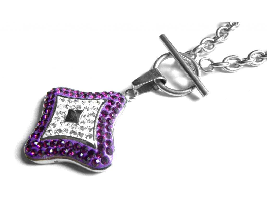 náhrdelník - chirurgická ocel - dámský - 121111