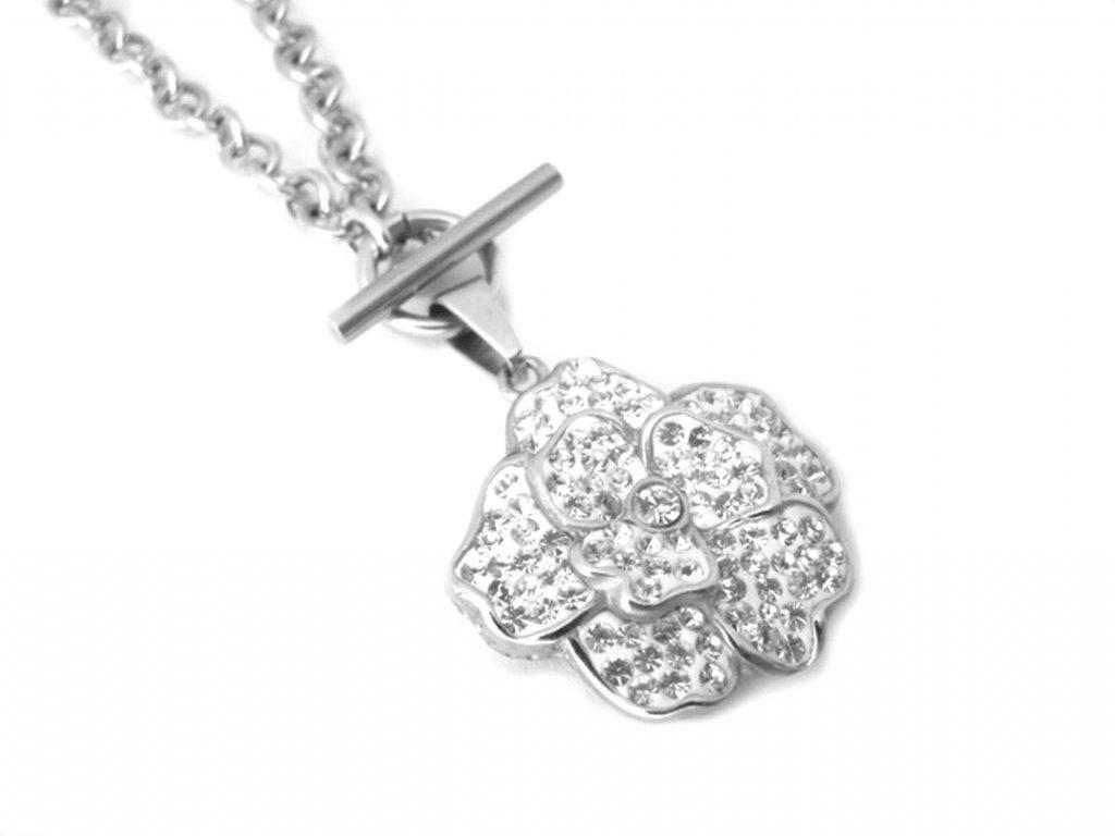 náhrdelník - chirurgická ocel - dámský - 090244