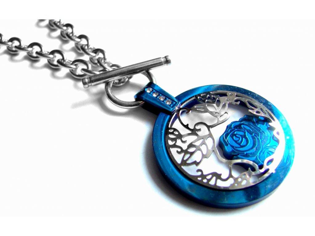 náhrdelník - chirurgická ocel - dámský - 090276