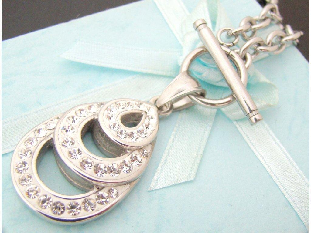 náhrdelník - chirurgická ocel - dámský - 130158