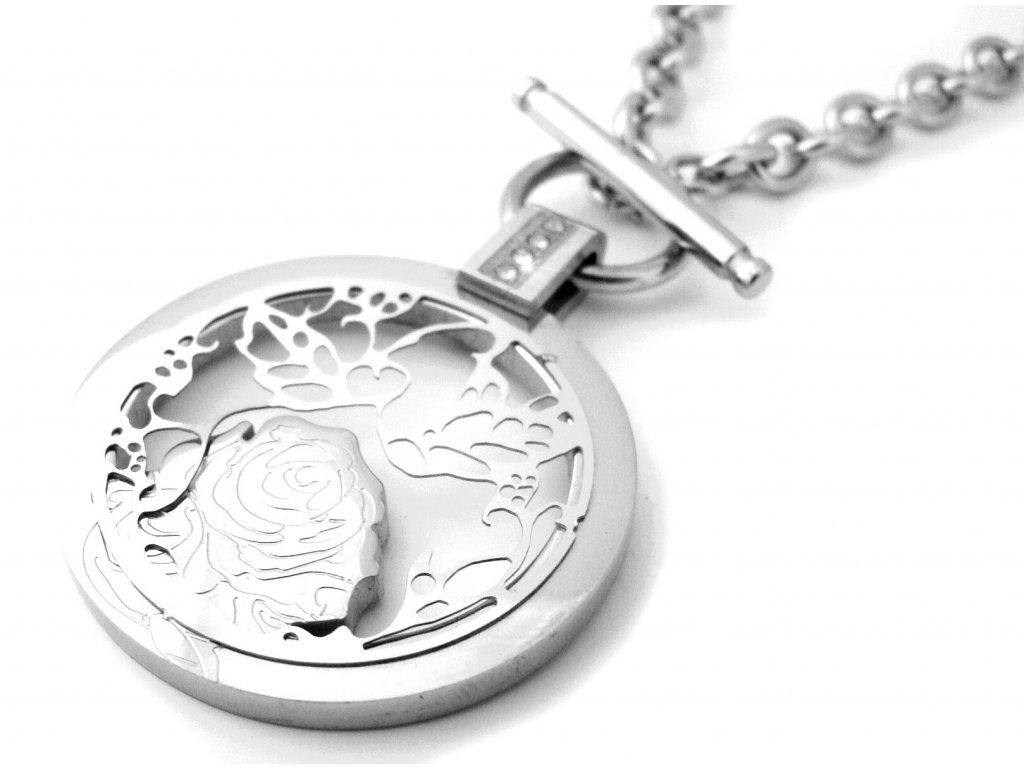 náhrdelník - chirurgická ocel - dámský - 090398