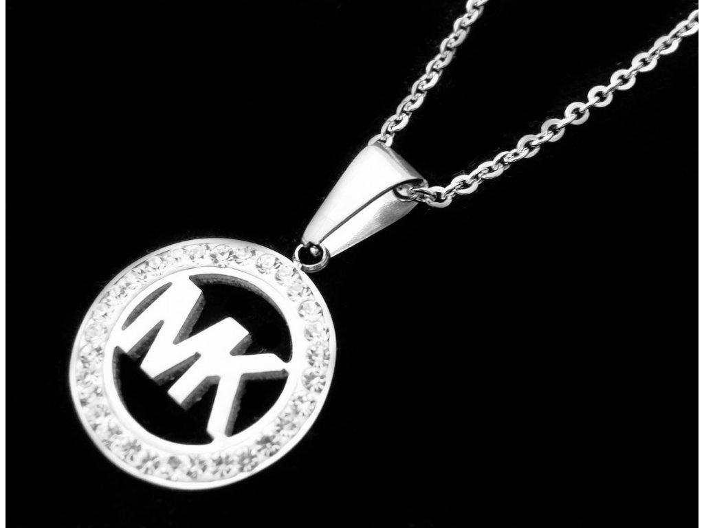 řetízek a přívěsek (náhrdelník) - chirurgická ocel - 140301