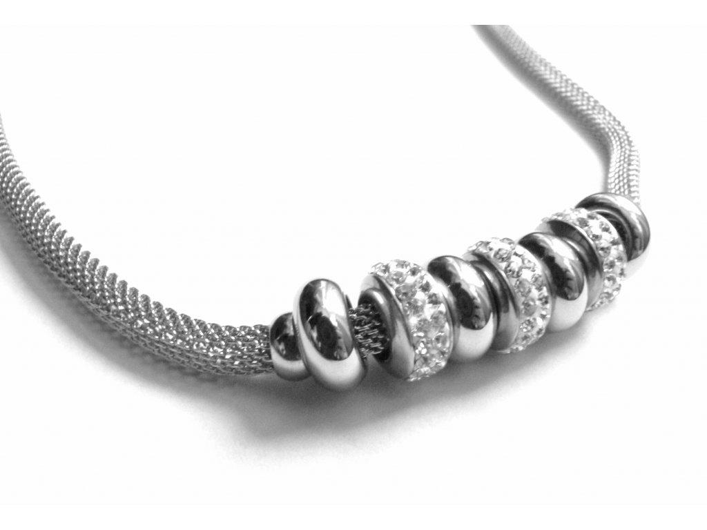 řetízek - náhrdelník - chirurgická ocel - dámský - 151106