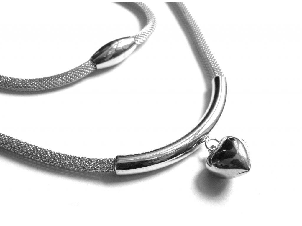 řetízek, náhrdelník - chirurgická ocel - dámský - 451209