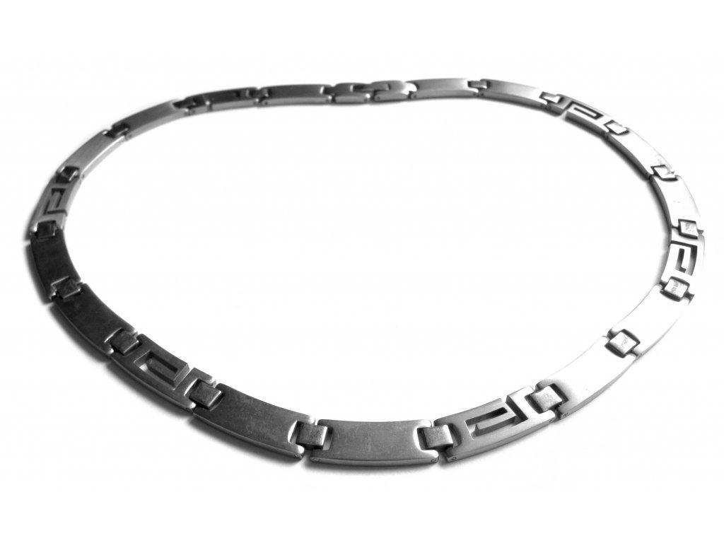 řetízek (náhrdelník) - chirurgická ocel - 180208