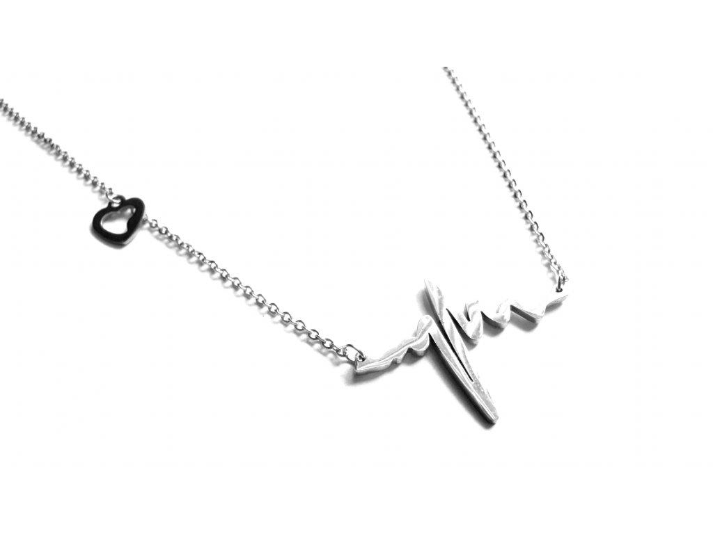 řetízek, náhrdelník - jemný - chirurgická ocel - 180307