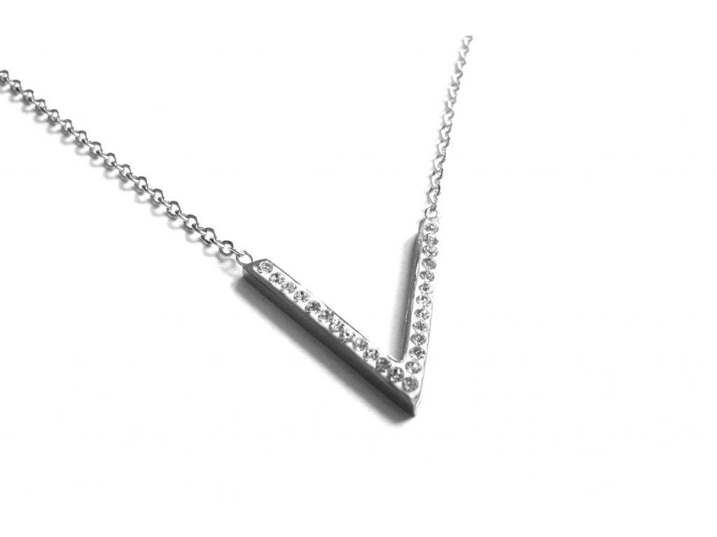 řetízek, náhrdelník - jemný - chirurgická ocel - 180306