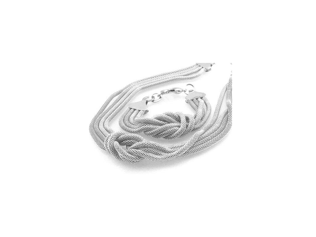 130967.řetízek náramek z chirurgické oceli chirurgická ocel