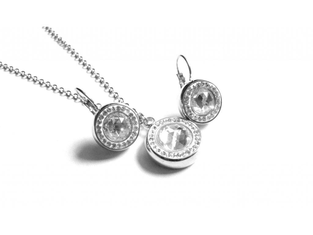 souprava - náhrdelník a náušnice - chirurgická ocel - 090267